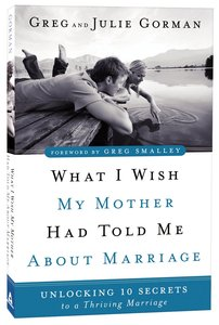 Product: What I Wish My Mother Had Told Me About Marriage Image