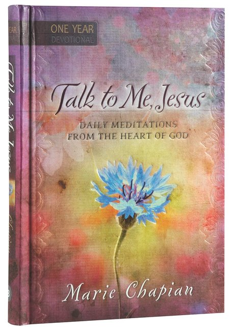 Product: Talk To Me Jesus One Year Devotional Image