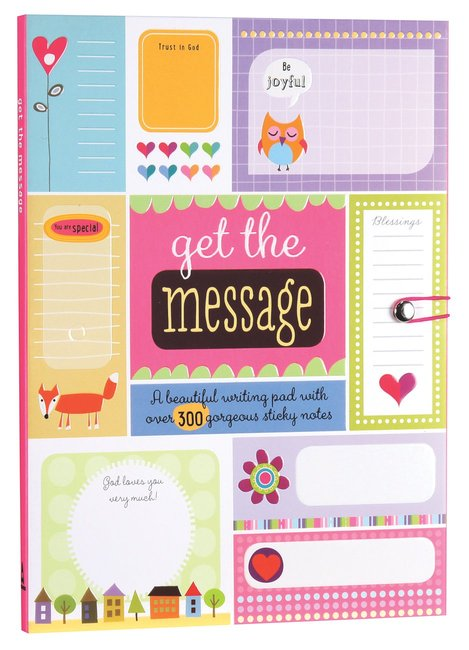 Product: Get The Message (Girls Stationery) Image