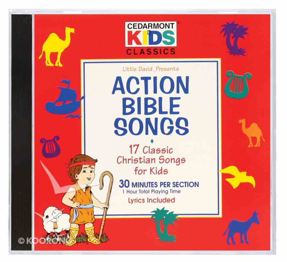 Action Bible Songs (Kids Classics Series) CD
