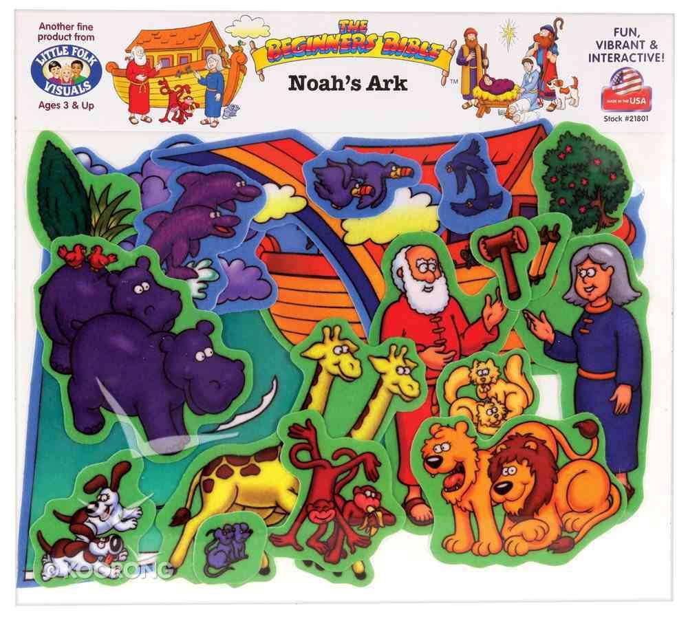 Noah's Ark (Beginners Bible In Felt Series) Flannelgraph