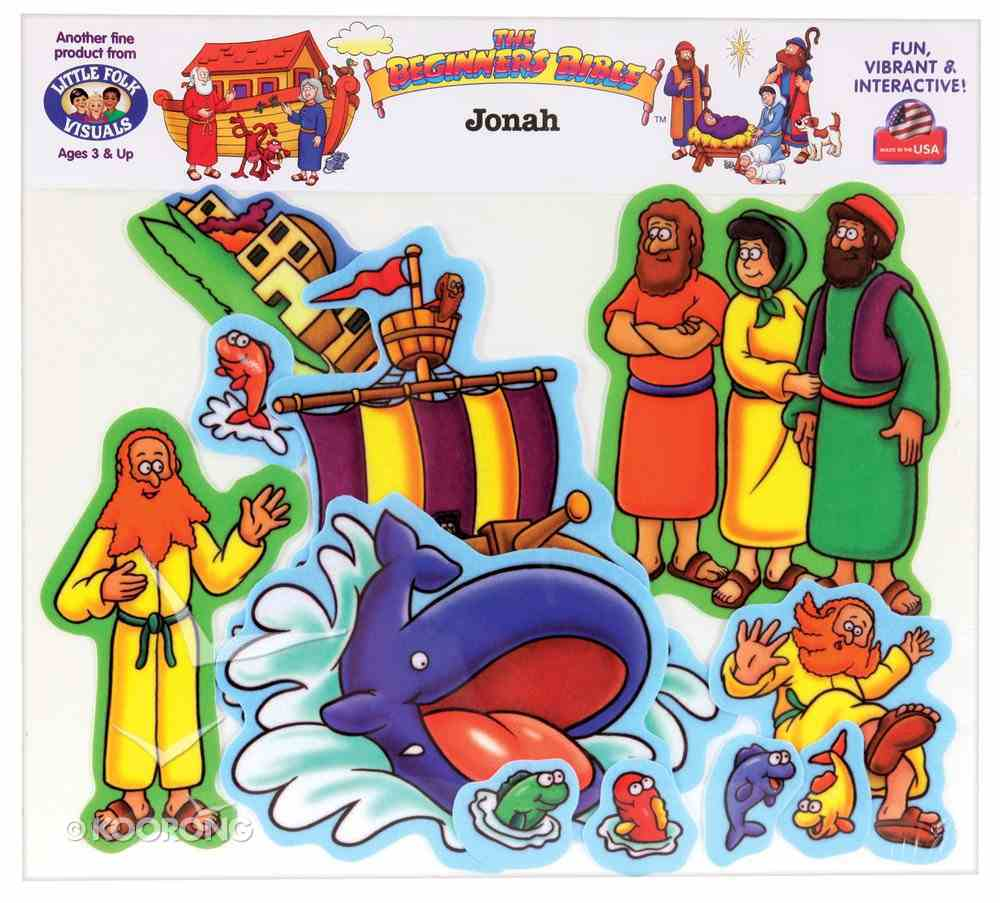 Jonah (Beginners Bible In Felt Series) Flannelgraph