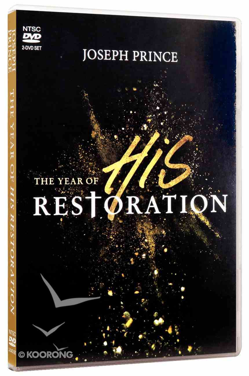 The Year of His Restoration (2 Dvds) DVD