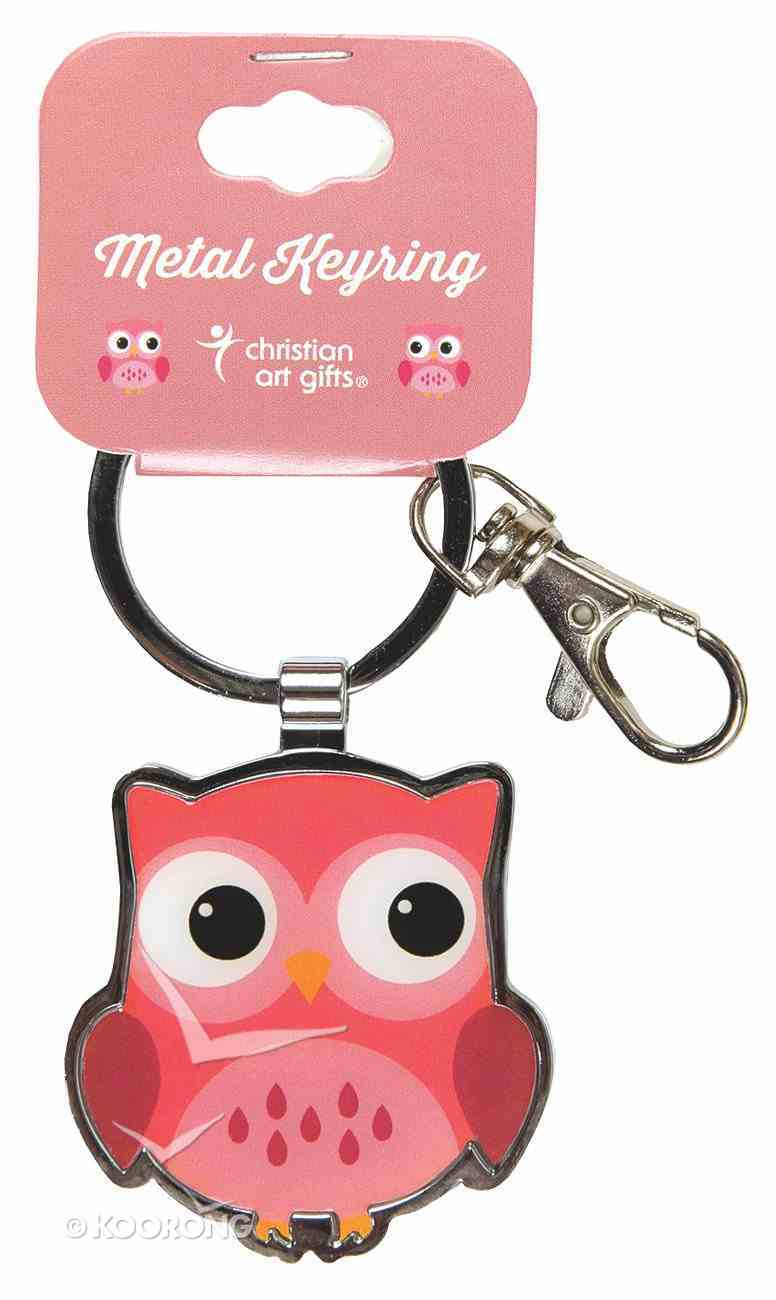 Metal Keyring Owl: Wisdom For the Soul Jewellery