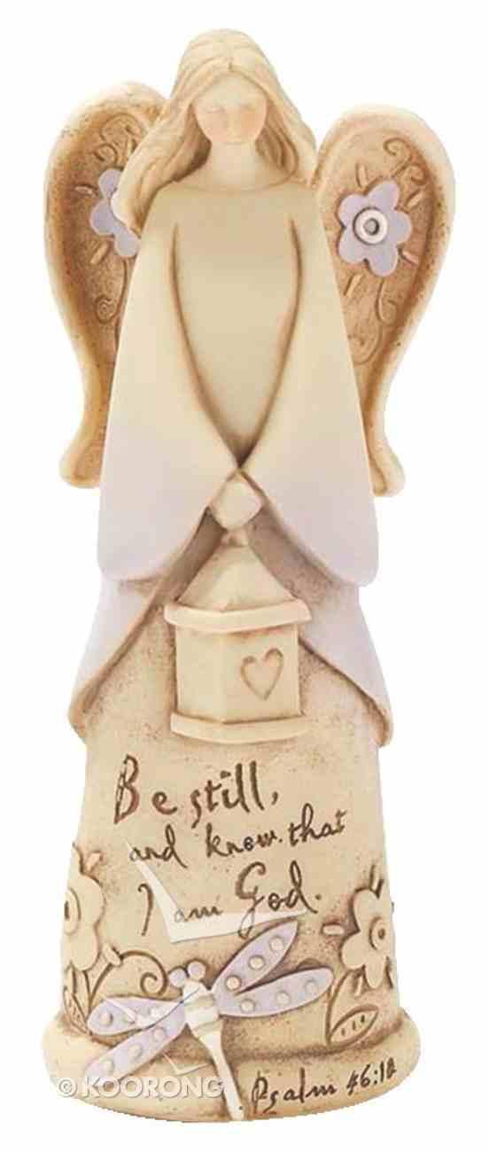 Ceramic Angel Figurine: Be Still and Know That I Am God Homeware