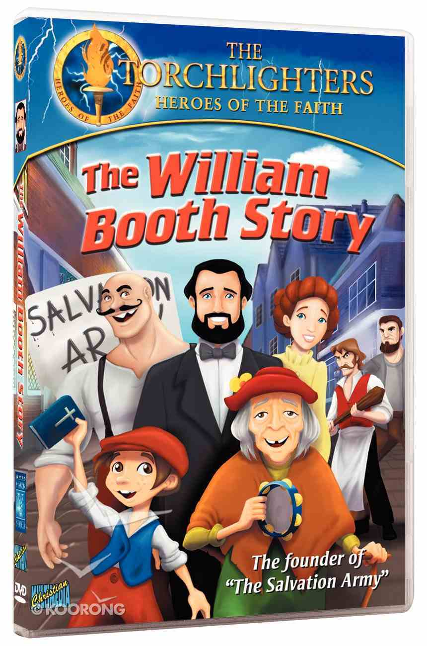 The William Booth Story (Torchlighters Heroes Of The Faith Series) DVD