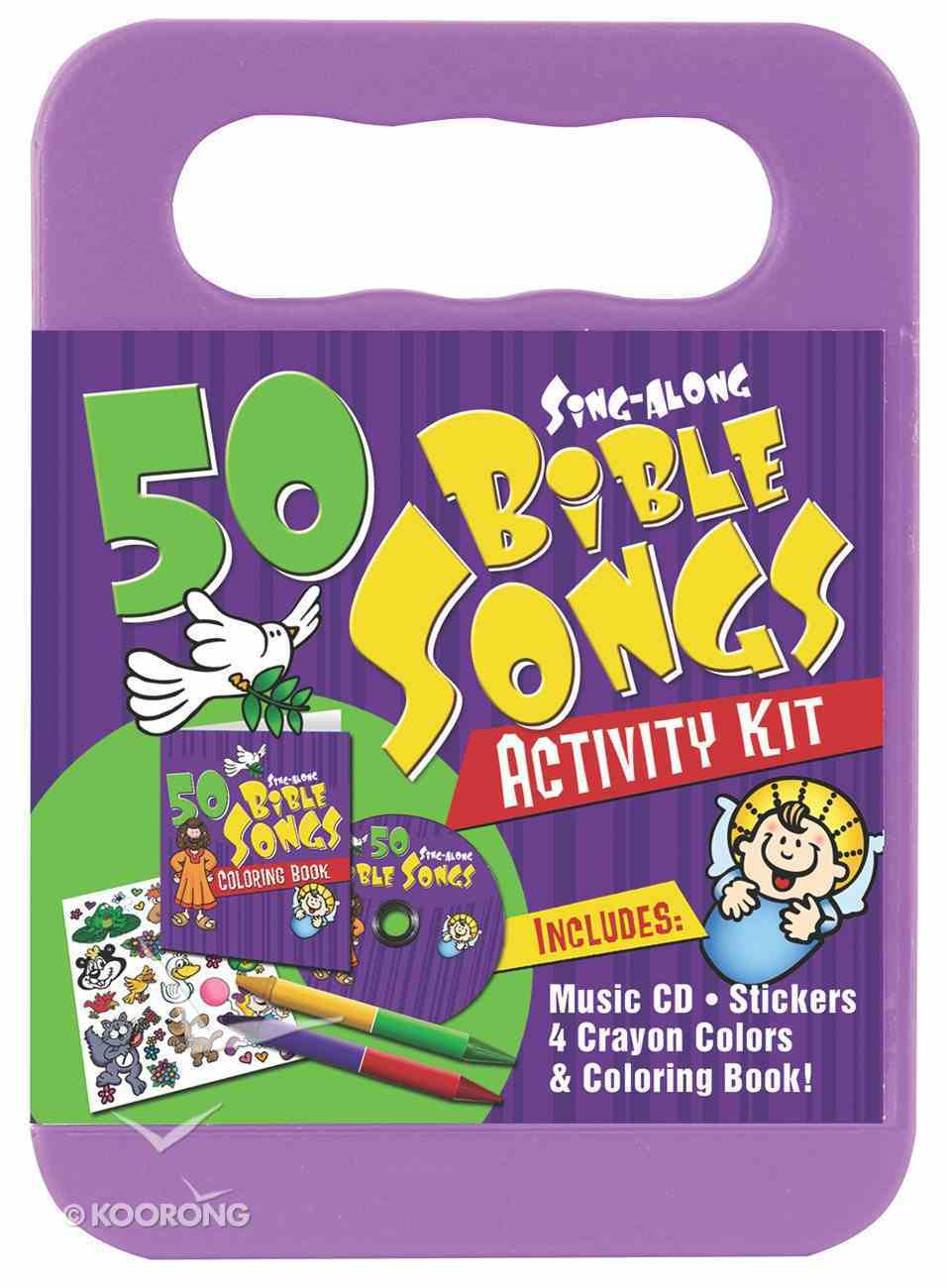 50 Sing-Along Bible Songs (Cd And Activity Set) Pack