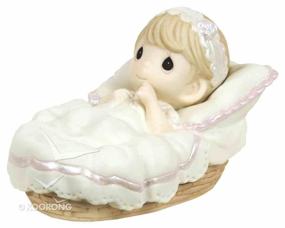 Precious Moments Figurine: Girl, Baptized in His Name Homeware