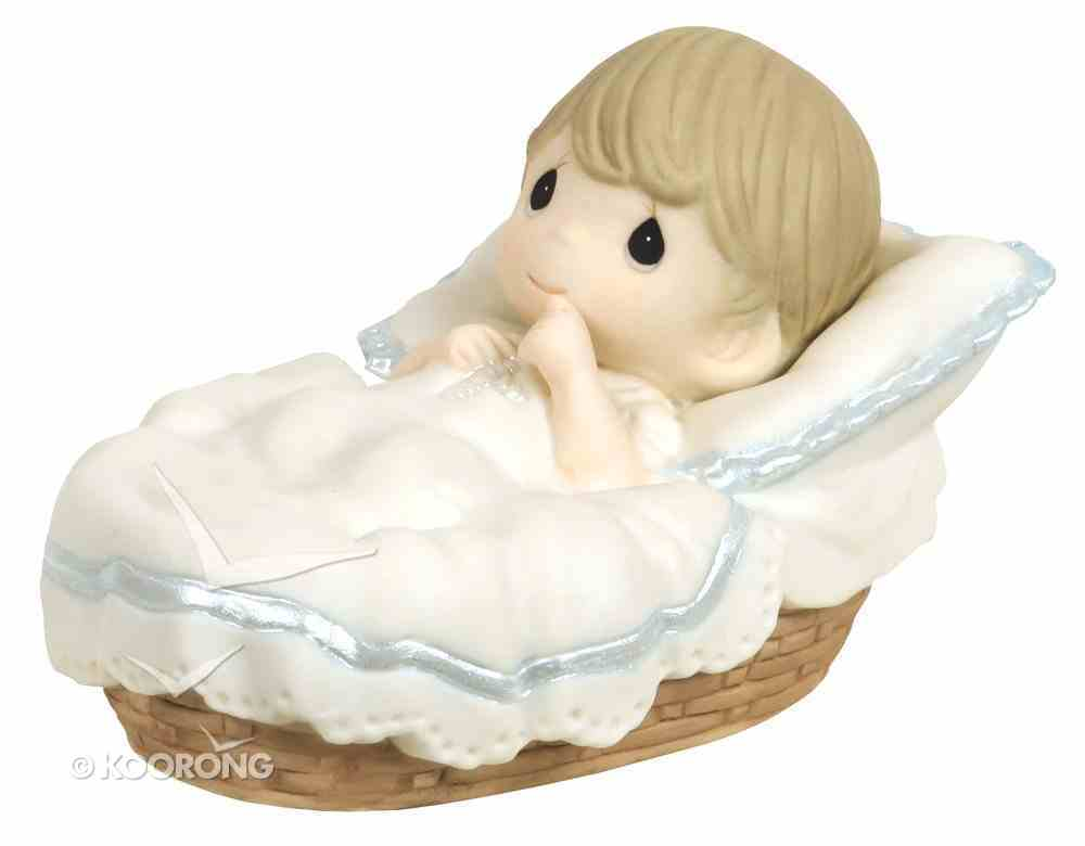 Precious Moments Figurine: Boy, Baptized in His Name Homeware