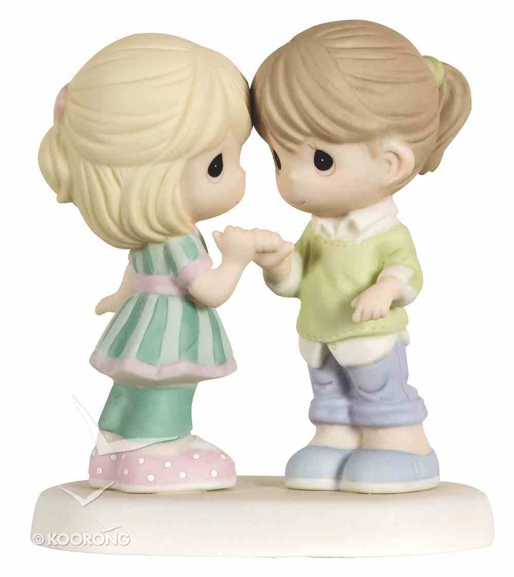 Precious Moments Figurine: Friends For Ever - Pinkie Promise Homeware