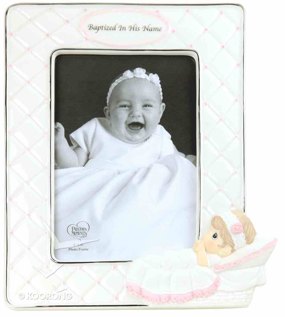 Precious Moments Photo Frame: Girl, Baptized in His Name Homeware