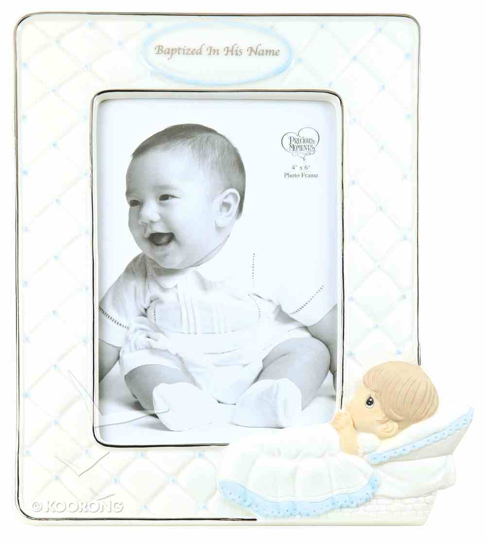 Precious Moments Photo Frame: Boy, Baptized in His Name Homeware