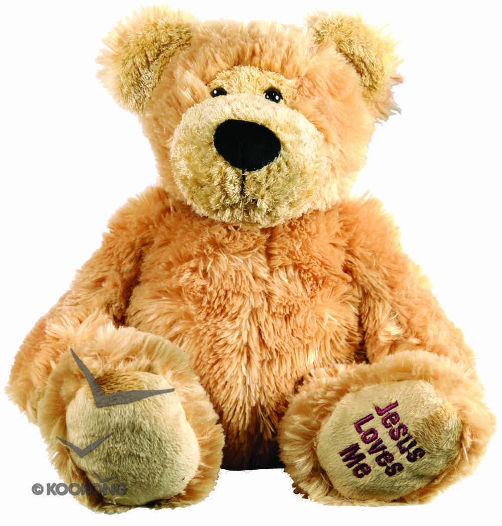 Dufus Bear: Jesus Loves Me , 30Cm Soft Goods