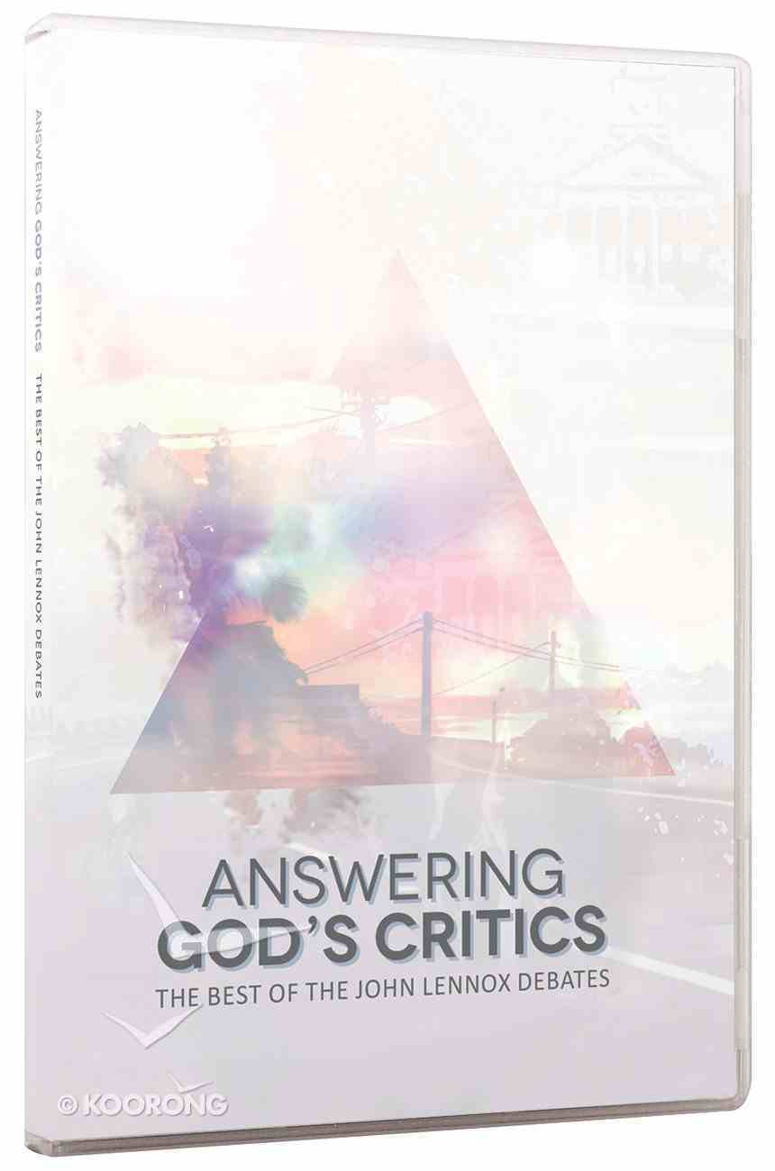 Answering God's Critics: The Best of the John Lennox Debates (5 Vol Pack) DVD