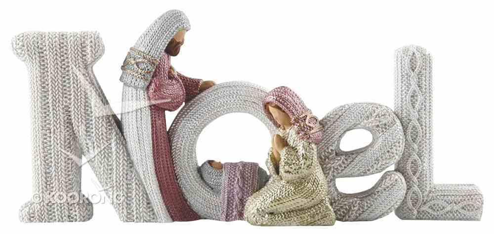 Resin Knitted Finish Holy Family: Noel Homeware