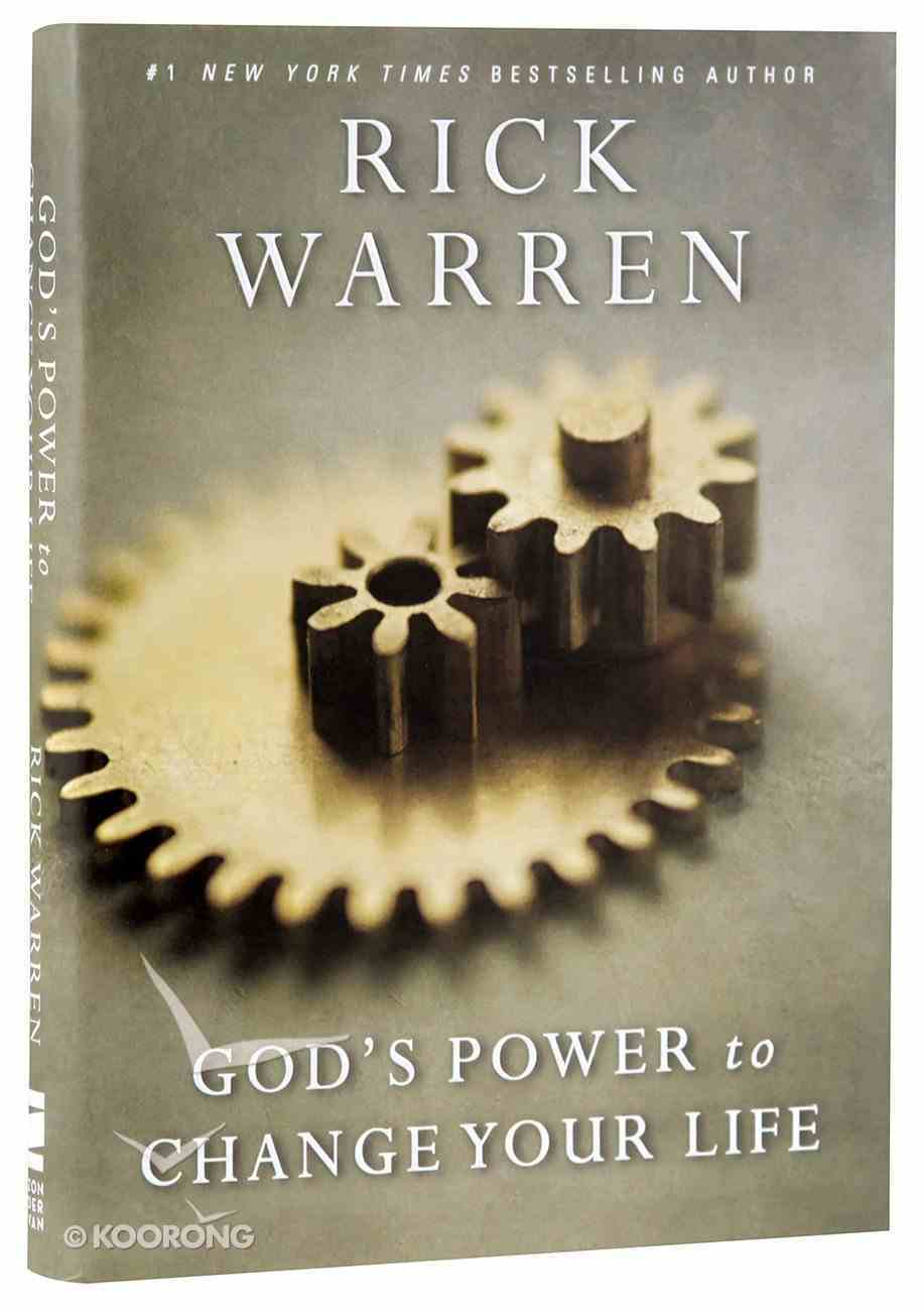 God's Power to Change Your Life (Living With Purpose Series) Hardback