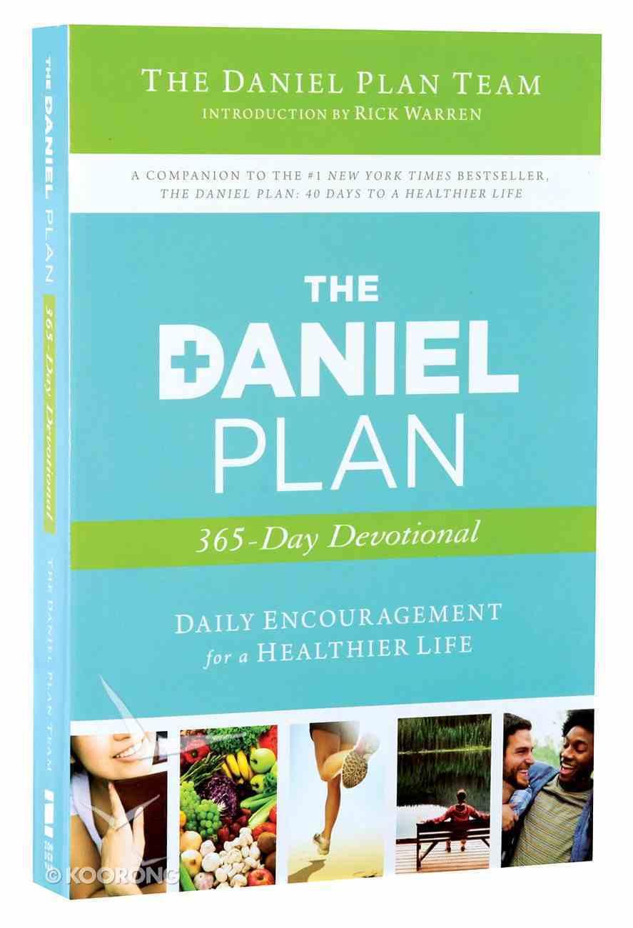 The Daniel Plan 365 Devotional Paperback