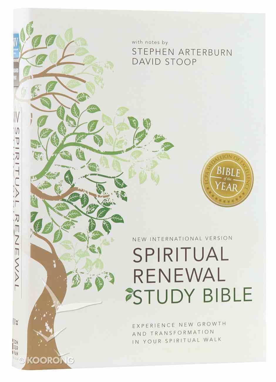 The NIV Spiritual Renewal Bible (Black Letter Edition) Hardback