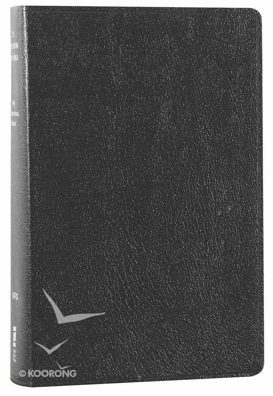 NIV Life Application Study Bible Personal Size Black (Red Letter Edition) Bonded Leather