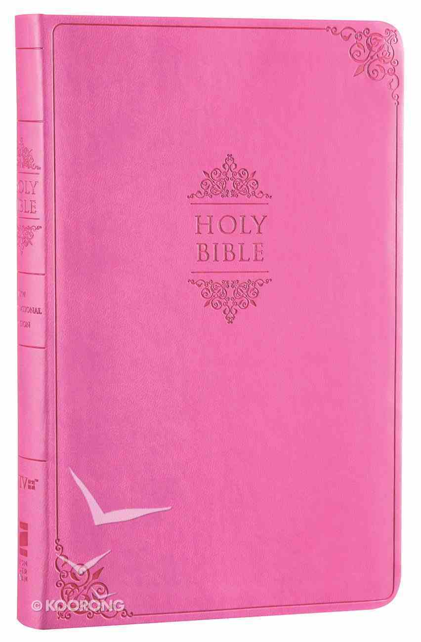 NIV Value Thinline Bible Pink Imitation Leather
