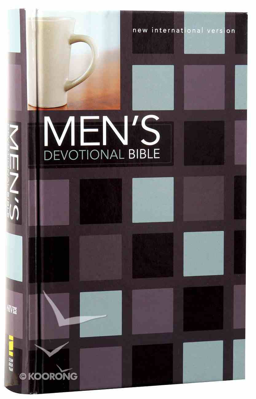 NIV Men's Devotional Bible (Black Letter Edition) Hardback
