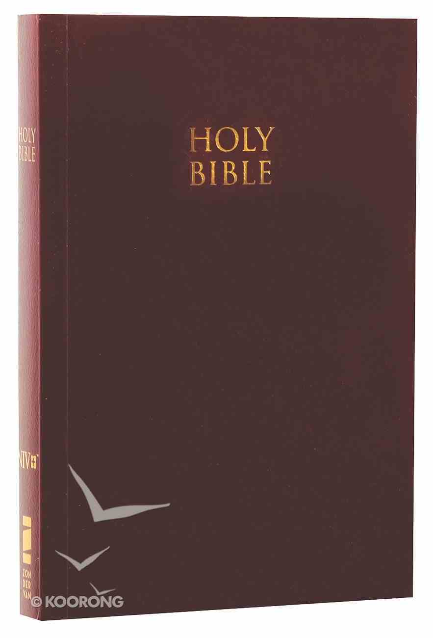 NIV God's Word to Go Compact Burgundy Softcover Paperback