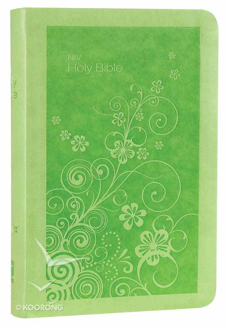 NIV Super Value Compact Bible Lime Premium Imitation Leather
