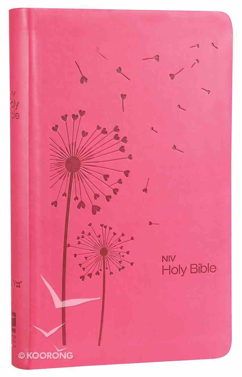 NIV Super Value Bible Pink Premium Imitation Leather