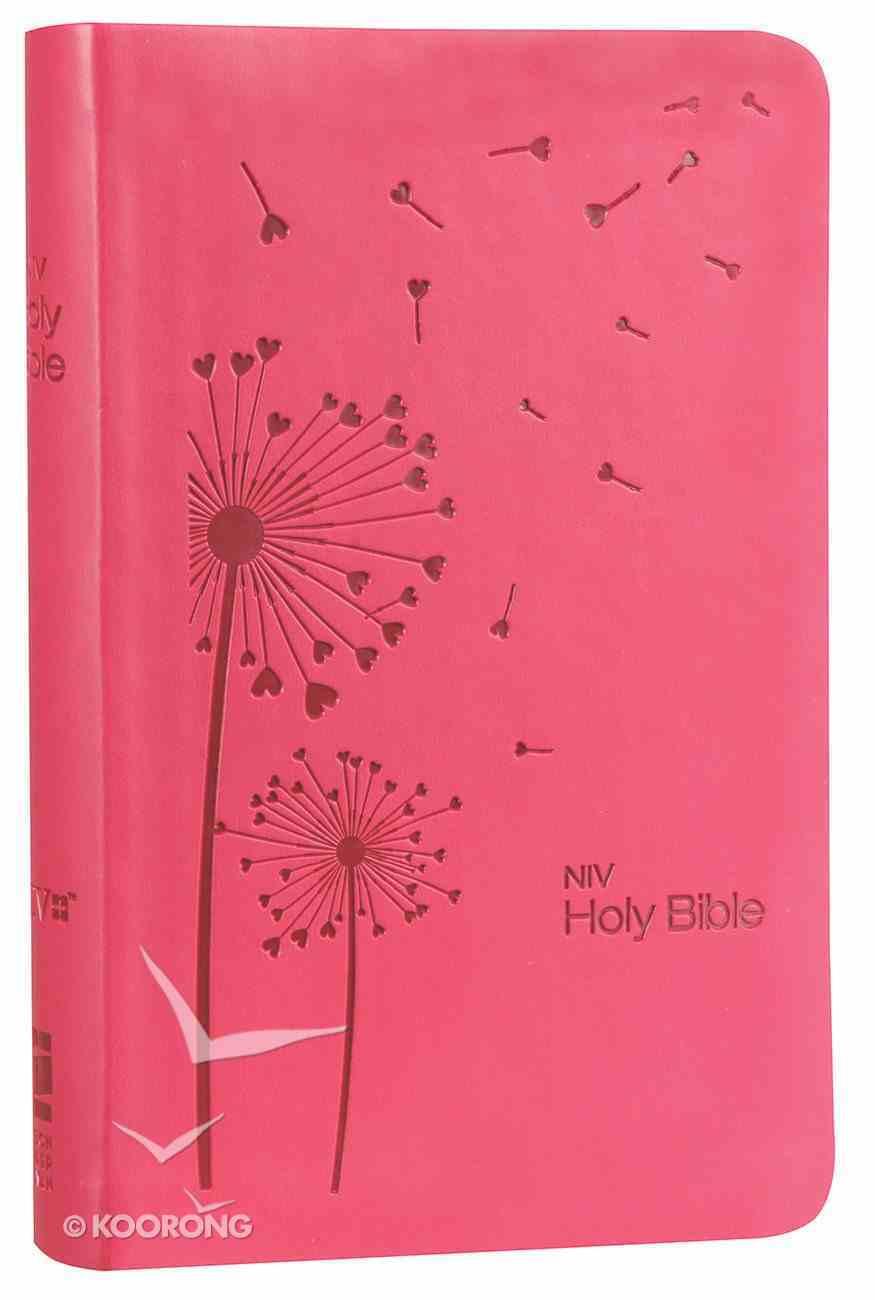 NIV Super Value Compact Bible Raspberry Premium Imitation Leather
