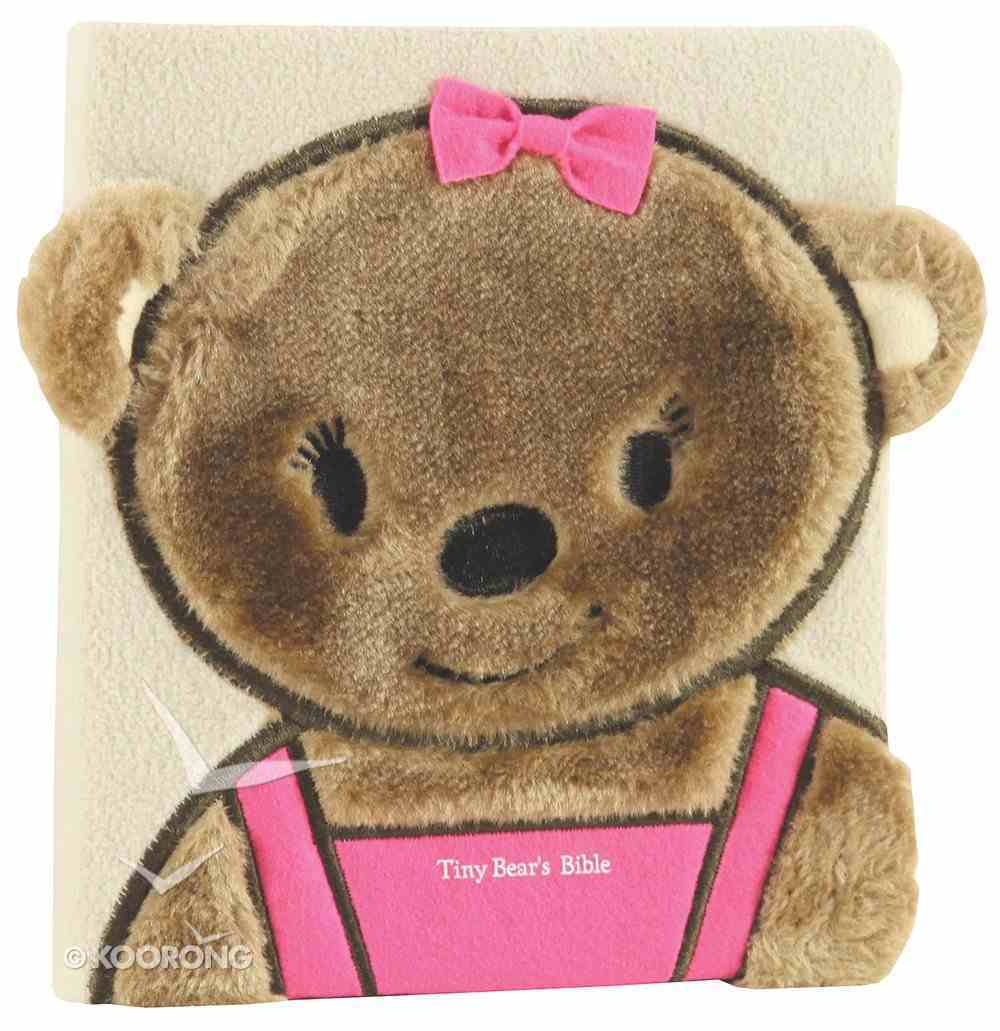 Tiny Bear's Bible Pink (Faux-fur) Board Book