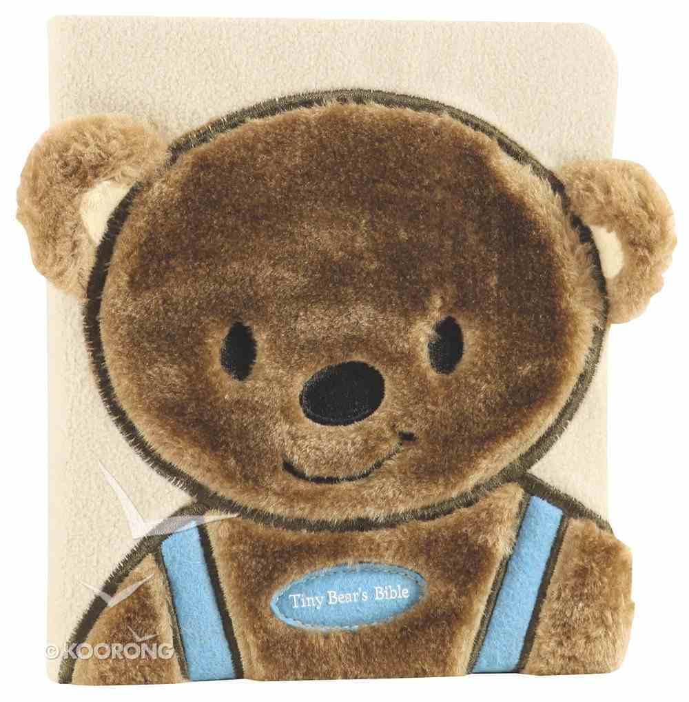 Tiny Bear's Bible Blue (Faux-fur) Board Book