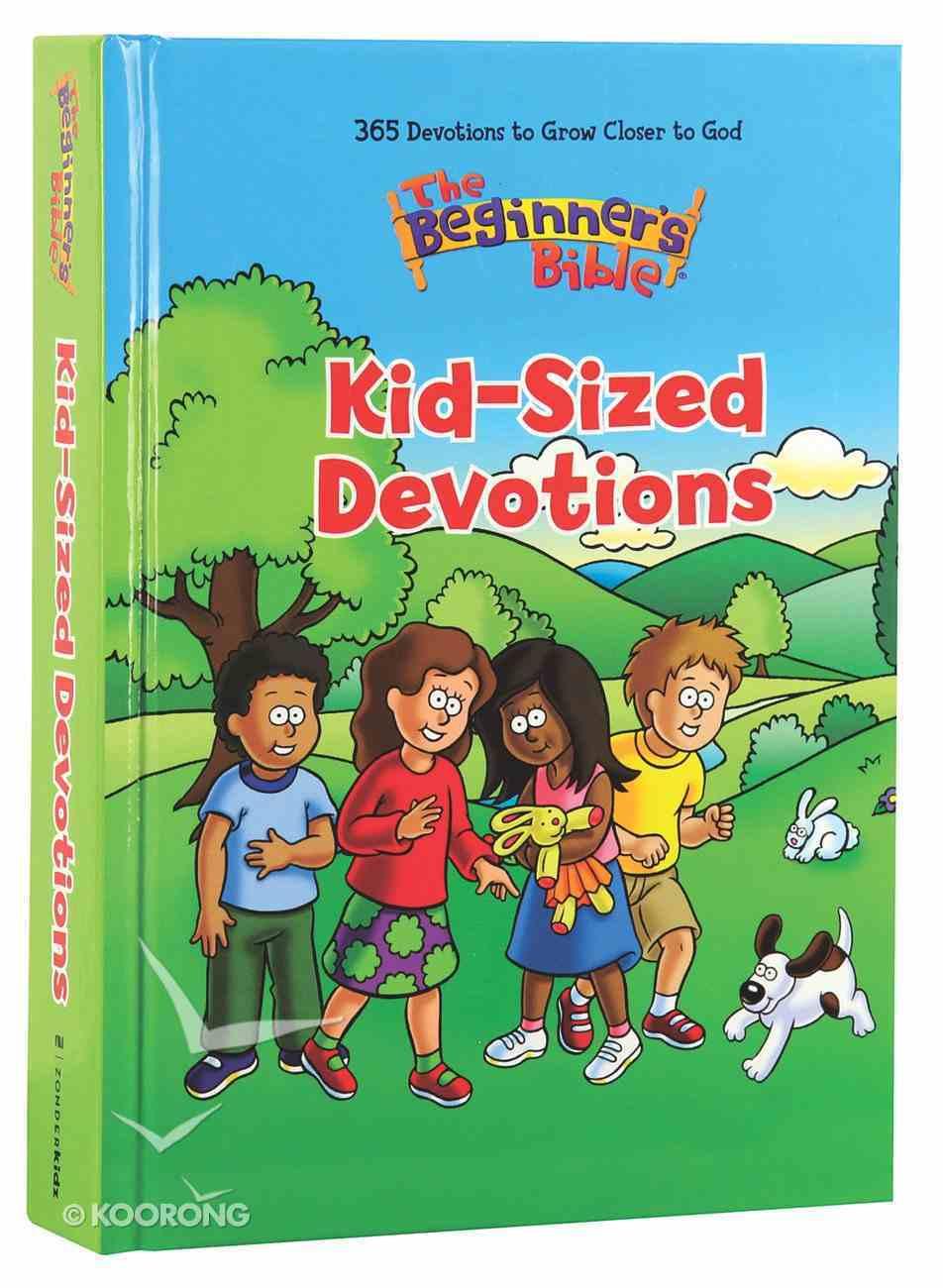 The Beginner's Bible Kid-Sized Devotions Hardback