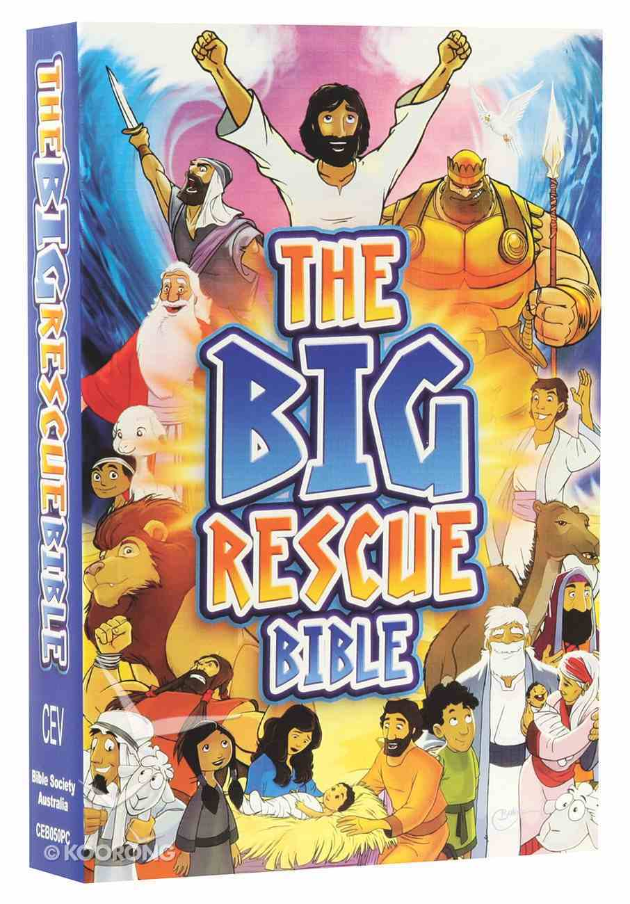 CEV the Big Rescue Bible (Cover & Illustrations 2014) Paperback