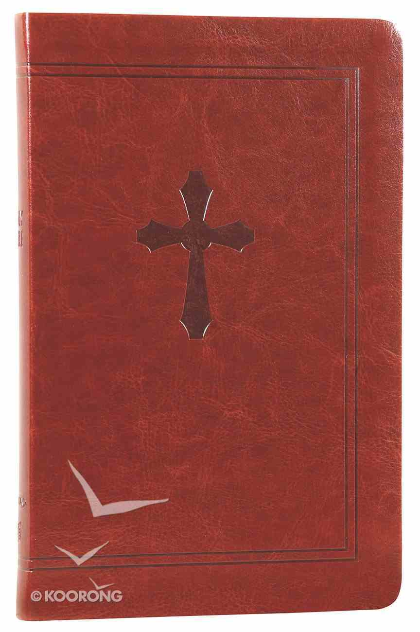 NKJV Ultraslim Bible Chestnut (Red Letter Edition) (Essentials) Imitation Leather