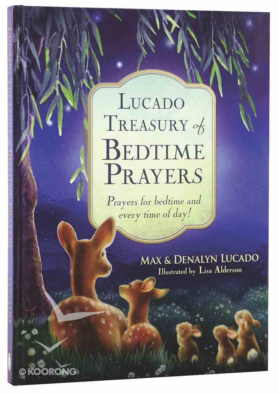 Lucado Treasury of Bedtime Prayers Hardback