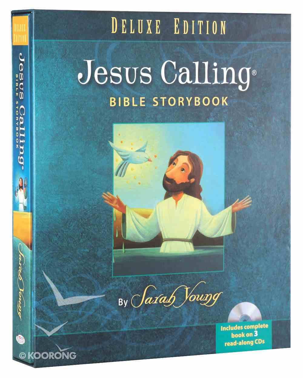 Jesus Calling Bible Storybook Deluxe Edition (Includes Cd) Hardback