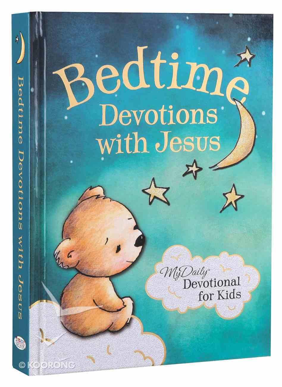 Bedtime Devotions With Jesus Hardback
