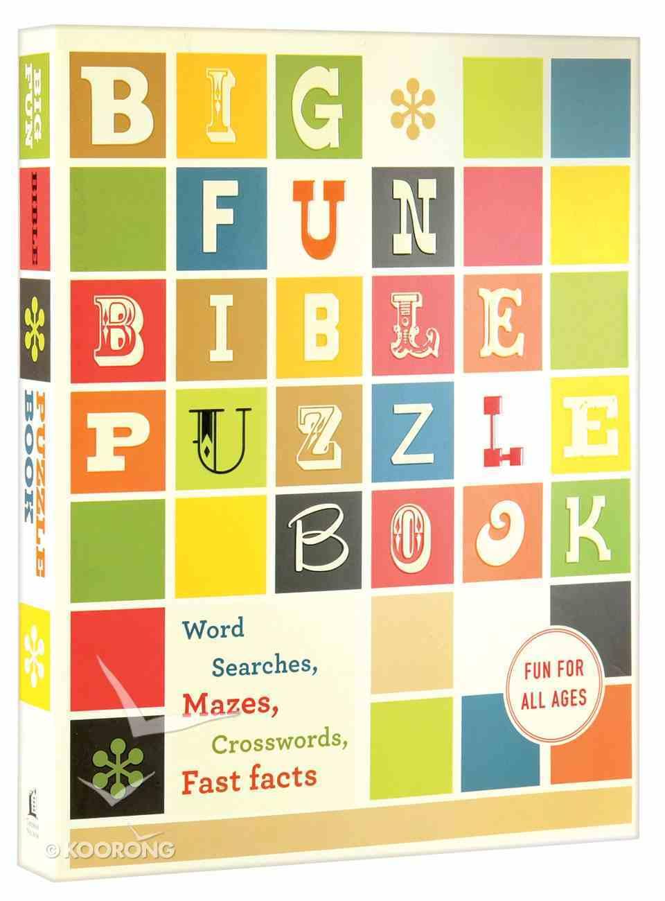 Big Fun Bible Puzzle Book Paperback