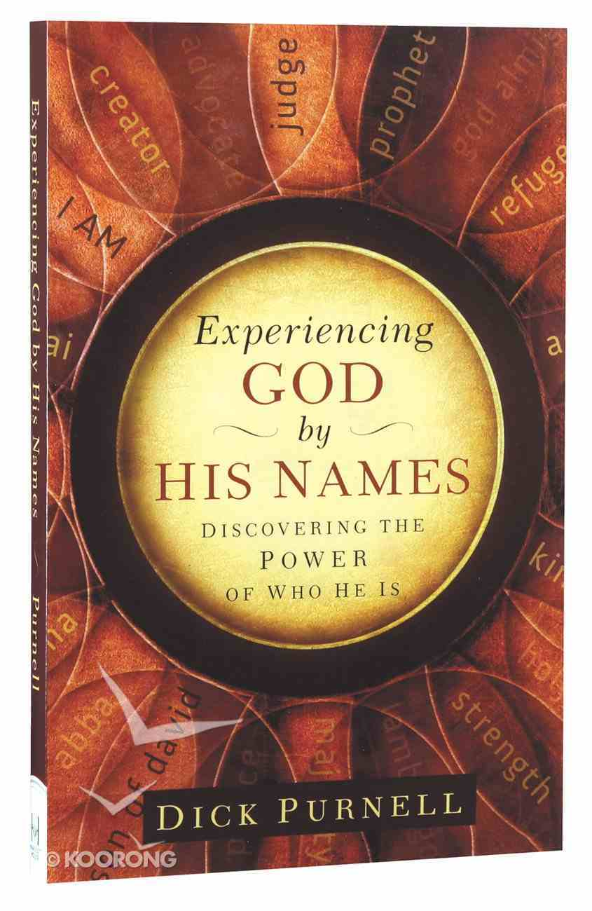Experiencing God By His Names Paperback