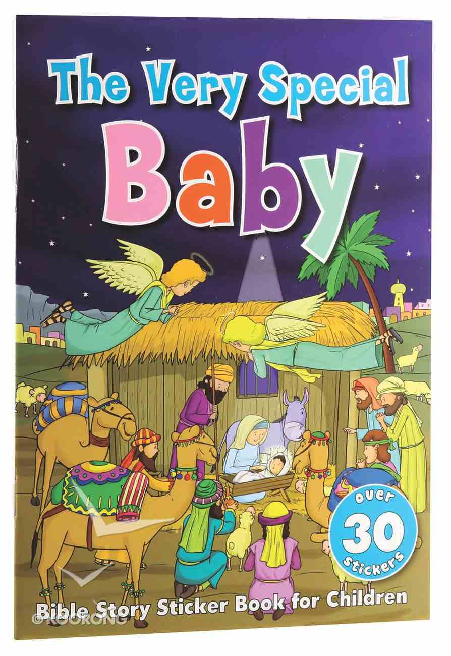 The Very Special Baby Sticker Book Paperback