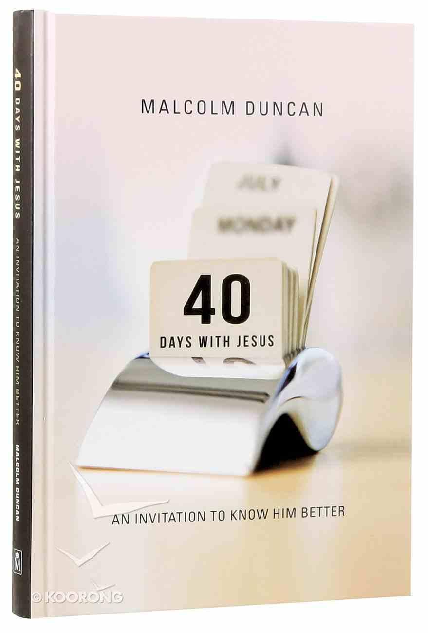 40 Days With Jesus Hardback