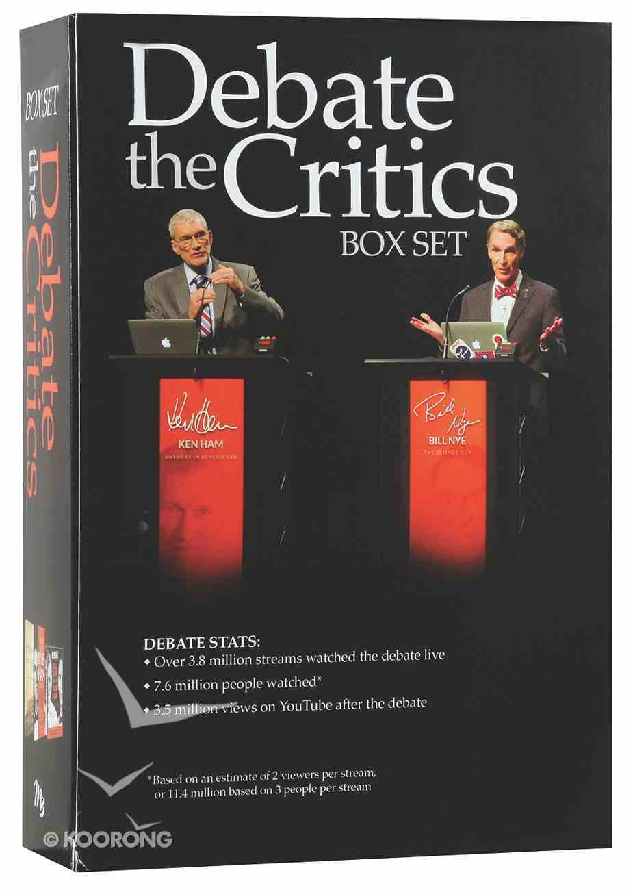 Debate the Critics Box Set (Ken Ham & Bill Nye) Box