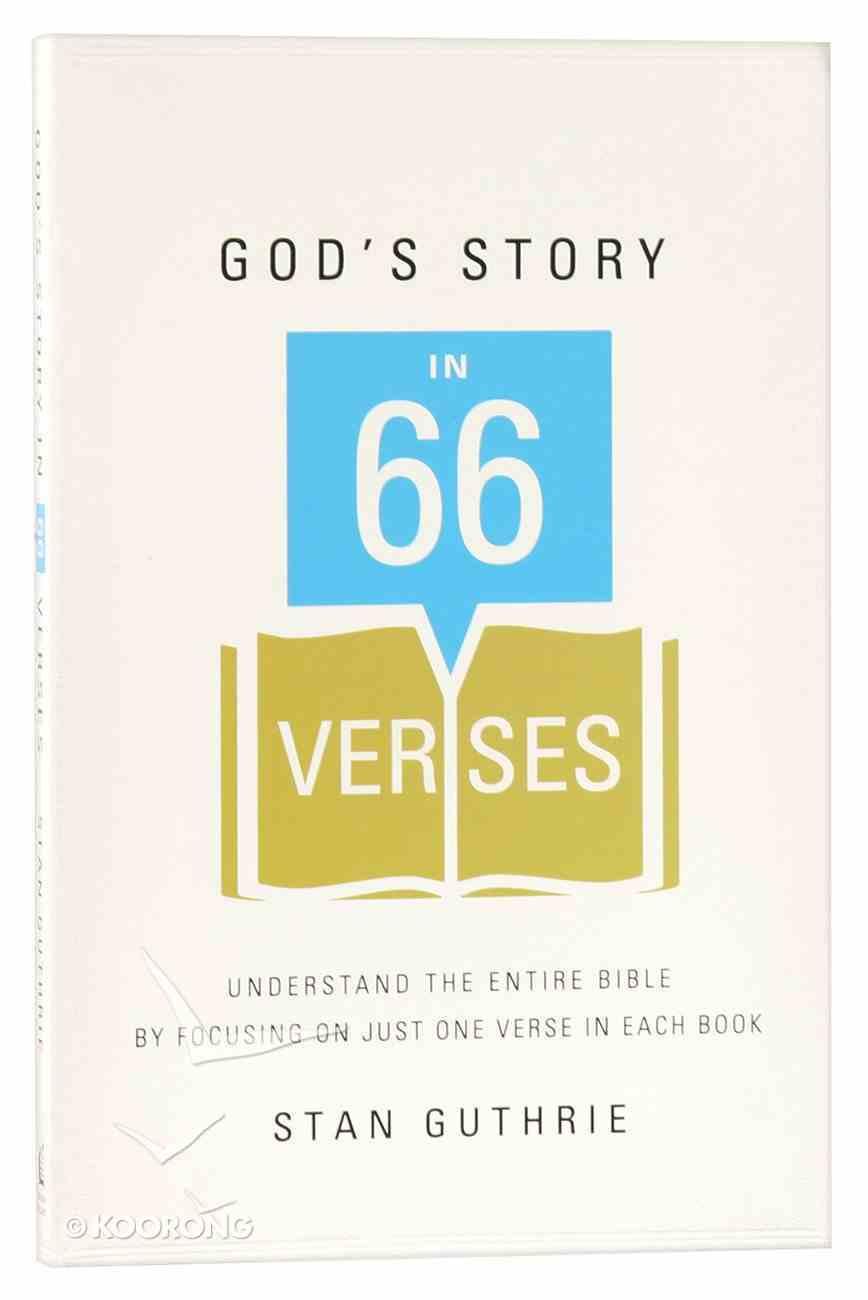 God's Story in 66 Verses Paperback