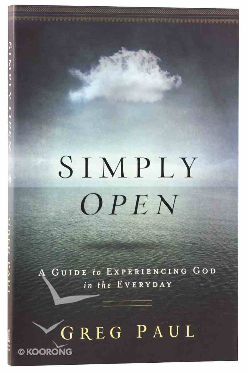 Simply Open Paperback