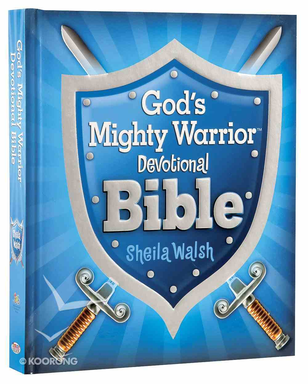 God's Mighty Warrior Devotional Bible Hardback