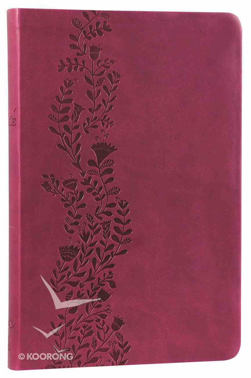 NKJV Ultraslim Bible Cranberry Imitation Leather