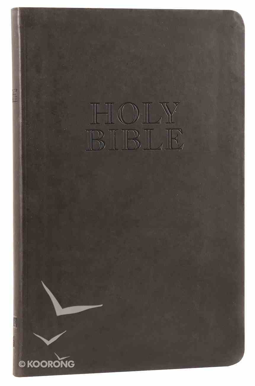 KJV Ultraslim Bible Black (Essentials) Imitation Leather