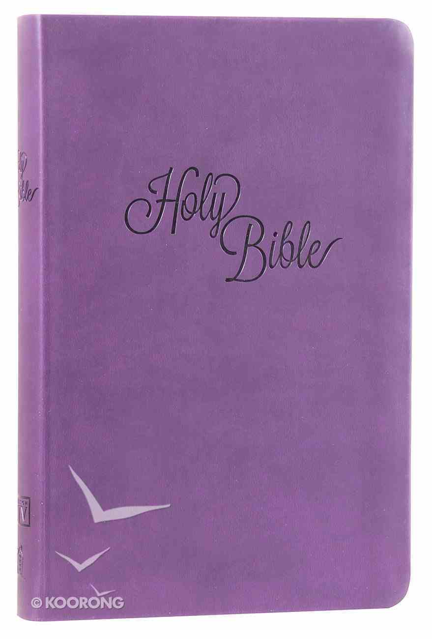 KJV Personal Size Giant Print Reference Bible Purple (Essentials) Imitation Leather