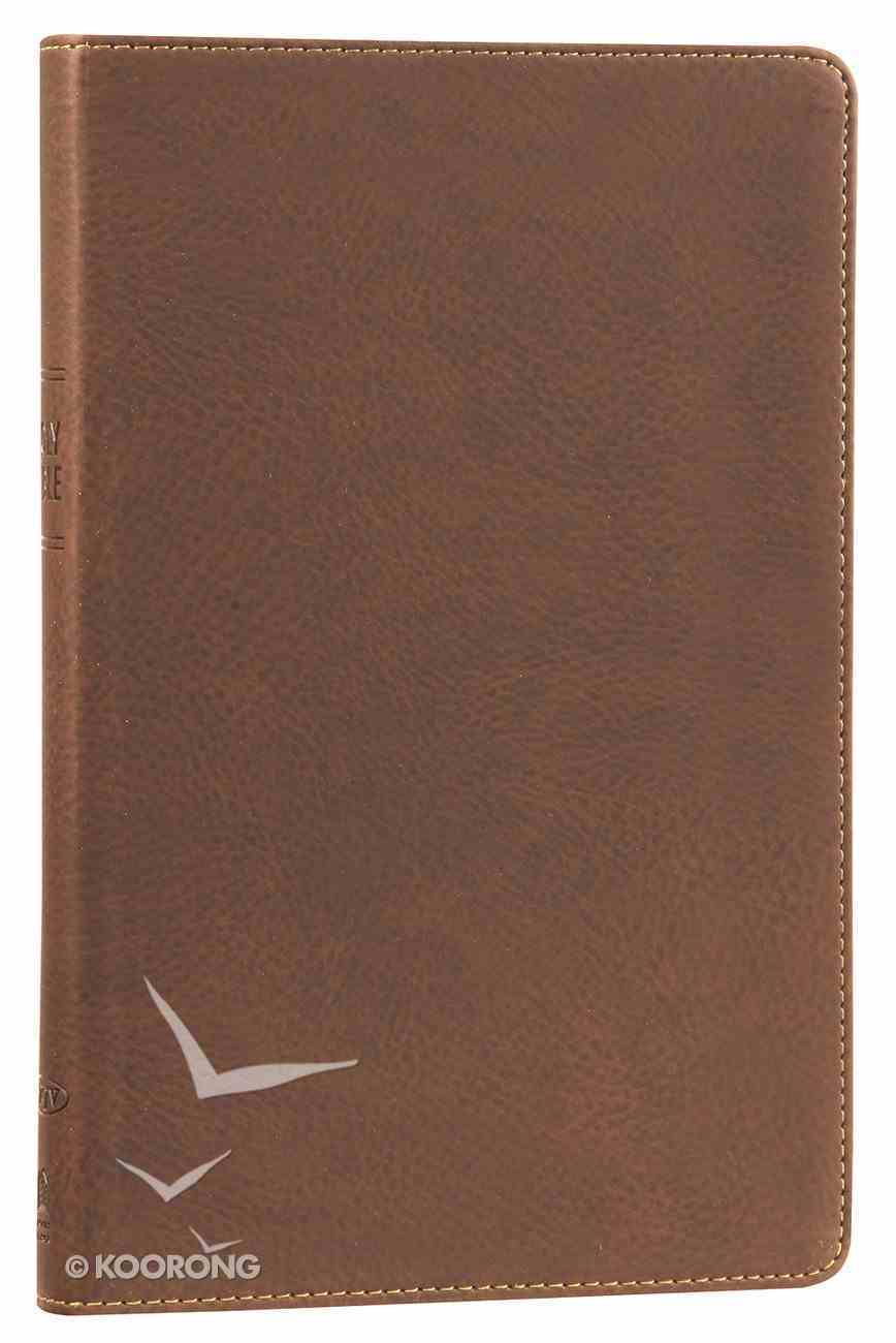NKJV Ultraslim Bible Earth Brown Imitation Leather