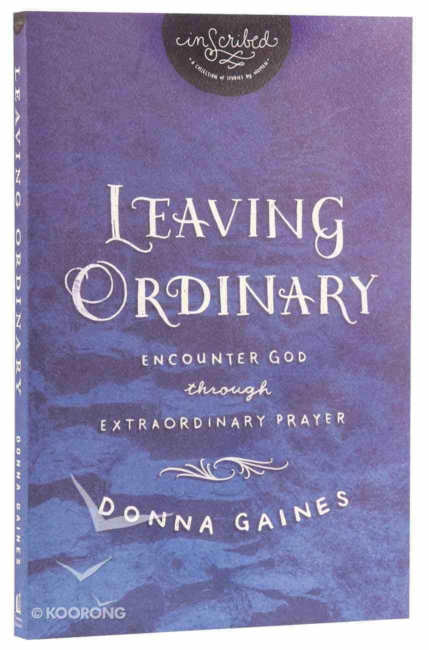 Isc: Leaving Ordinary Paperback